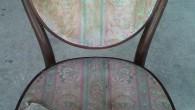 曲げ木のいすは、弾力性と強度があり、まだまだ使用できます。1脚¥12.500(税別)